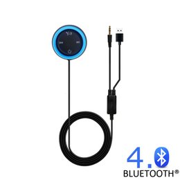 Wholesale Car Stereo Adaptors - Bluetooth Car Kit Bluetooth 4.0 Receiver for BMW Hands-Free Calling Music Stream Audio Adaptor for iPhone iPod Android Smartphone