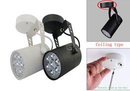 Wholesale Adjustable Ceiling Lamp - 3W 5W 7W 12W 18W Modern Adjustable Track Light Ceiling Down Lamp Spotlight Black Shell #28