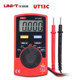 Wholesale Uni Ball - UNI-T UT120C Pocket Meters Handheld Digital Slim Multimeters Meter Tester