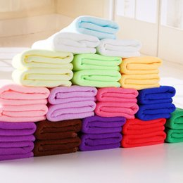 Wholesale Quality Kitchen Towels - 2017 High Quality Home Garden Large Absorbing Microfiber Kitchen Cloths Auto Car Dry Cleaning Towels Wash Free Shipping