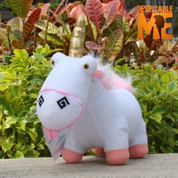 Wholesale Despicable Fluffy Unicorn Plush - Wholesale-Anime Despicable Me Unicorn Plush Toy Licorne Fluffy Unicorn Juguetes Brinquedos Stuffed Animals Doll Toy For Kids Child