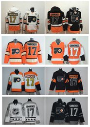 Wholesale Hoodies Star - Top Quality ! Stadium Series Philadelphia Flyers 17 Wayne Simmonds Ice Hockey Jerseys All Star Simmonds Hoodies Stitched Winter Classic