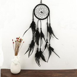 Wholesale Wholesale Ornaments Plastic - Dream Catcher Antique Imitation Enchanted Forest Dreamcatcher Gift Handmade Dream Catcher Net With Feathers Wall Hanging Decoration Ornament