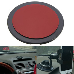 Wholesale Disc Pads - Wholesale-New Arrival New Car Suction Cup Adhesive Dash Dashboard Mount Disc Pad GPS Phone Stand