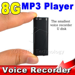 Wholesale 1gb Usb Pen Drive - Wholesale- 3 in 1 Stereo MP3 Music Player + 8GB Memory Storage USB Flash Drive + Mini Digital Audio Voice Recorder Pen Dictaphone