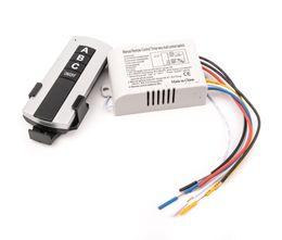 Wholesale Wireless Remote Lamp Switch - Wholesale- 3 Channel Wireless Remote Control Switch Digital Remote Control Switch for Lamp & Light YB003-SZ+