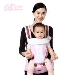 Wholesale Baby Hip Carriers - Bethbear Fashion Multifunctional Baby Backpack Carrier Comfortable Breathable Cotton Infant Backpack Waist Stool Baby Hip Seat