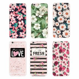 Старинный розовый телефон онлайн-Модный винтажный цветочный узор Rose Sunflower Soft Tpu Чехол для телефона для iPhone 7Plus 7 6 6S 5 5S SE XS Max