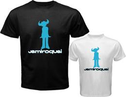 Wholesale Hipster Boy Shorts - Newest Summer Fashion Jamiroquai Jay Kay Logo Funk Music Design Men'S T Shirt Boy Cool Tops Hipster Printed Summer T Shirt
