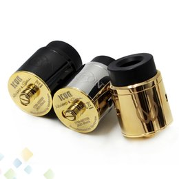 Wholesale Newest ICON RDA Atomizer mm Unique Two post with Four Terminals in Stepped Orientation and Innovative Hedged Airflow DHL Free