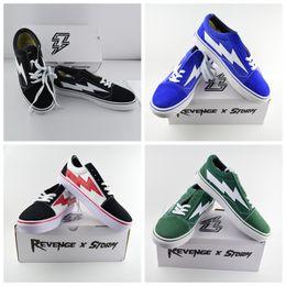 Wholesale Canvas Casual Sneakers - Yezee Calabasas Stylist Ian Connors Revenge X Storm Sneakers kanye west calabasas Casual Shoe Men Women Shoes Four Colors Wholesale
