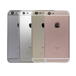 Wholesale Iphone Wholesale Housing - For iPhone 6S 6SP Plus Back battery Rear cover Housing Metal Frame Assembly High Quality New