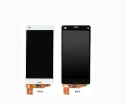 Argentina Para Sony Xperia Z3 Compact D5803 D5833 Z3C z3mini Pantalla táctil táctil con ensamblaje de digitalizador Suministro