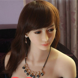 Wholesale Sex Doll Realistic Body - 165cm japanese full body realistic TPE sex doll with metal skeleton for man busty lady sex dolls for Vagina Oral