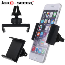 Wholesale Iphone4s Car - New car holder Car Air Vent Mount Stand phone Holder For Iphone4s 5s 6s plus for samsung s5 s6 edge suporte para celular GPS DVR