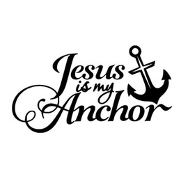 Wholesale Vinyl Materials - 15.2CM*8.3CM Christian Vinyl Car Window Sticker Decal Cute Jesus Religious Prayer Car Stickers Decals