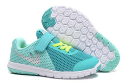 Wholesale Childrens Summer Shoes - Wholesale Online 2017 New Kids Athletic shoes childrens sports running shoes Barefoot 5.0 The free Royal Navy barefoot shoes 5.0 EUR22-35