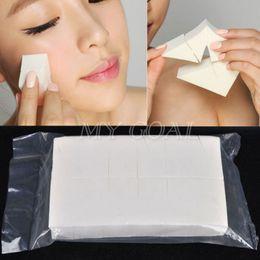 Wholesale Facial Puffs - 24 PCS Soft Make Up Sponge Face Powder Puff Facial Face Cotton Blender Sponge Triangle Makeup Puff Cosmetic Tools