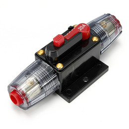 Wholesale Fuse Car Audio - Durable Car Audio Inline Circuit Breaker Fuse for 12V Protection SKCB-02-20A AUP_508