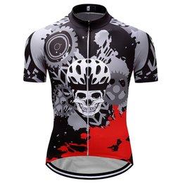 jersey rock Promo Codes - Crossrider 2017 summer Rock Racing Cycling Jersey funny Bike Wear Short Maillot Roupa Ropa De Ciclismo Hombre Verano Size2xs