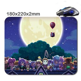 Wholesale Mouse Cross - 220*180*2 mm Animal crossing new leaf Non-Slip Durable Computer Laptop Gaming Rubber soft Mouse Pad in As office Gift for player