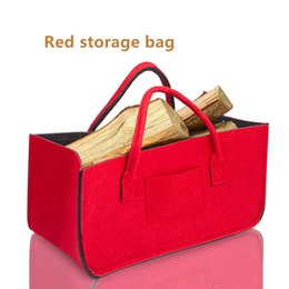 Wholesale Other Storage - Wholesale custom large-capacity storage bags for household goods, clothing, firewood, newspapers and other collection.Felt production