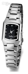 Relojes de negocios de mujer reloj de acero de tungsteno auténtico reloj de acero de tungsteno a prueba de agua señoras de la tabla relojes de oro rosa negro desde fabricantes