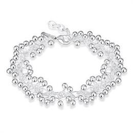 Wholesale Grape Bracelets - Free shipping silver plated jewelry bracelet fine fashion grape bracelet top quality wholesale and retail DH017