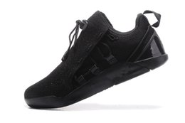 Wholesale mens ski boots 12 - all Black Mens KOBE A.D. NXT 12 Basketball shoes men KB 2017 New Arrival AD WOLF GREY Zoom Sport Shoes