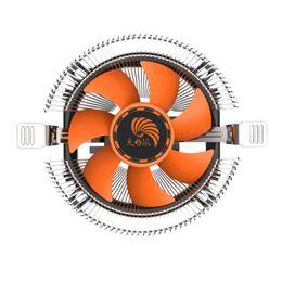 lga775 cpu ventilador de arrefecimento Desconto Venda por atacado - Novo PC CPU Cooler Fan Cooling Dissipador de calor para Intel LGA775 1155 AMD AM2 AM3 A97