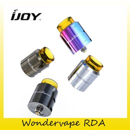 Wholesale Post Fittings - Authentic iJoy Wondervape RDA Tank Two Post Build Deck Side Bottom Arirflow Atomizer Fit Authentic Captain PD270 Mod 100% Genuine 2228520