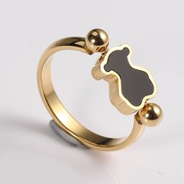 Wholesale Fast American - TL stainless steel ring four sizes two color gold and silver plated fast shipping high quality