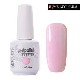 Wholesale Gold Manicure Set - Wholesale-15ml 220 Colors Arte Clavo 1532 Nail Manicure Set Cosmetic Nail Polish Lacquer UV