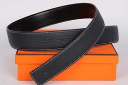 Wholesale 38 D - Designer belts men have buckle belts for Buckle Designer men leather strap genuine H leather luxury strap and box