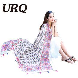 Wholesale China Shawls Wholesale - Wholesale- brand designer star winter scarf bohemina girl cape fashionable warm scarves tassel lady scarf women shawl 2016 China style