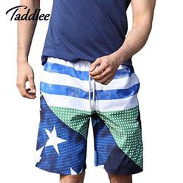 Wholesale Big Mens Boxers - Wholesale-GAILANG Brand Mens Beach Wear Causle Swimsuits Quick Drying Men Boardshorts Plus Big Size XXXL Man Boxers Trunks Active Bermudas