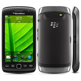 Wholesale Blackberry 3g Mobile - Refurbished Original Blackberry Torch 9860 3.7 inch Touch Screen 768MB RAM 4GB ROM 5MP Camera WIFI GPS 3G Unlocked Mobile Phone DHL 1pcs