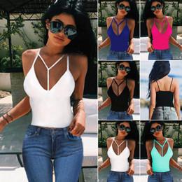 Cinturones pequeños online-Chaleco de cinturón condole pequeño, camisetas con cuello en v, ropa de mujer de moda