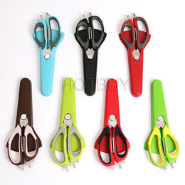 Wholesale Multi function Food Scissor Cutting Chicken Fish Food Knife Kitchen Barbecue Refrigerator Scissor