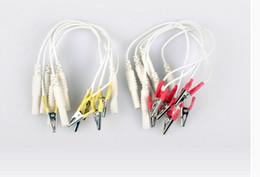 Wholesale Needle Clamp - 10pcs Hwato instrument SDZ-II , electronic needle clip clamp Acupuncture Alligator clip