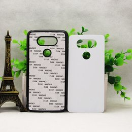 Wholesale G3 Model - wholesale 2D Fashion PC Plastic Hard DIY Sublimation Blank Cover Case for LG G3 G4 G5 Model with Aluminium Plate Case
