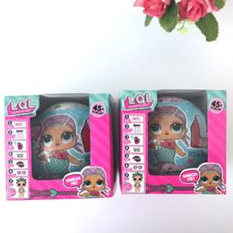 Wholesale Retail Plush Doll - LOL Surprise Dolls Unpacking Dolls Dress Up Toys Baby Tear Open Change Egg Dolls Spray Kids Gift Single Retail Box Best Gift 3003211