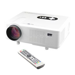 Wholesale Dlp 3d Short Throw Projector - Wholesale-Cheapest !!! Newest 3000lumens portable 1280*800 Resolution Support 3D 1080p HDMI+USB+VGA+TV+A V Short Throw Projector