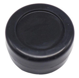 Wholesale 3ml T - 100pcs 3ML black inexpensive small round nonstick silicone container jars dab silicone wax container OD 26* ID 18 * T 17 MM