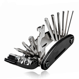Wholesale Hex Wrench Spanner - 16 in 1 Multi Manual Combination Tool kit Allen Wrench Used For MTB and Bicycle Repair Torx Spanner Ferramentas