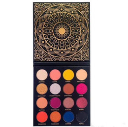 Wholesale Eyeshadow Platte - New Arrival Ace Beaute Eyeshadow Platte Ace Beaute Quintessential Palette 16 Colors Matte and Shinny Eyeshadow DHL Shipping