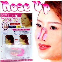 Wholesale Nose Shaping - Nose Up Shaping Shaper Lifting Bridge Straightening Beauty Nose Clip Face Fitness Facial Clipper corrector