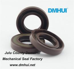 Wholesale Oil Seal Hydraulic - DMHUI seal factory High pressure oil seal 17*30*6 17x30x6 VITON rubber BAFSL1SF type used for hydraulic motor