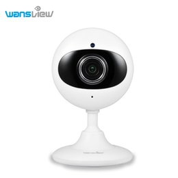 Wholesale Monitor Elderly - Wanview 1.0MP Mini WI-FI ip Camera Wireless For Baby Elderly Pet Care P2P White Baby Monitor Security Camera Support Phone PC