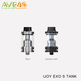 Wholesale Atomizer C4 - IJOY EXO S Tank Sub Ohm Tank 3.2ml Top Filling Sub-ohm Atomizer with Innovative XS Coil System of Pre-made XS-C1 XS-C4 100% Original